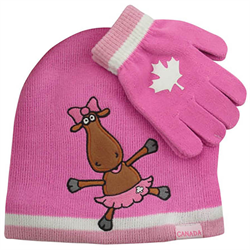 Toque and Glove Set - Miss Moose