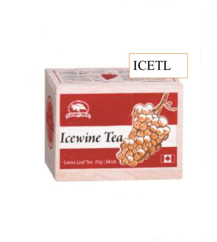 Icewine Tea-Wooden Box 25 g Loose Tea
