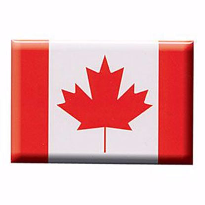 "Magnet-Canada Flag photo 2""x3"""