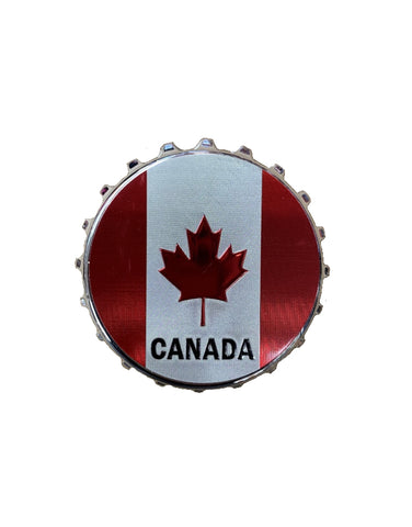 Magnet - Canada Flag and Bottle Opener