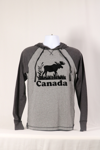 Light Weight Hoodie-Moose