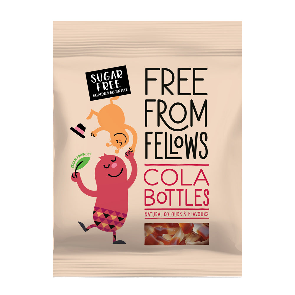 Free From Fellows - Cola Bottles - 100g