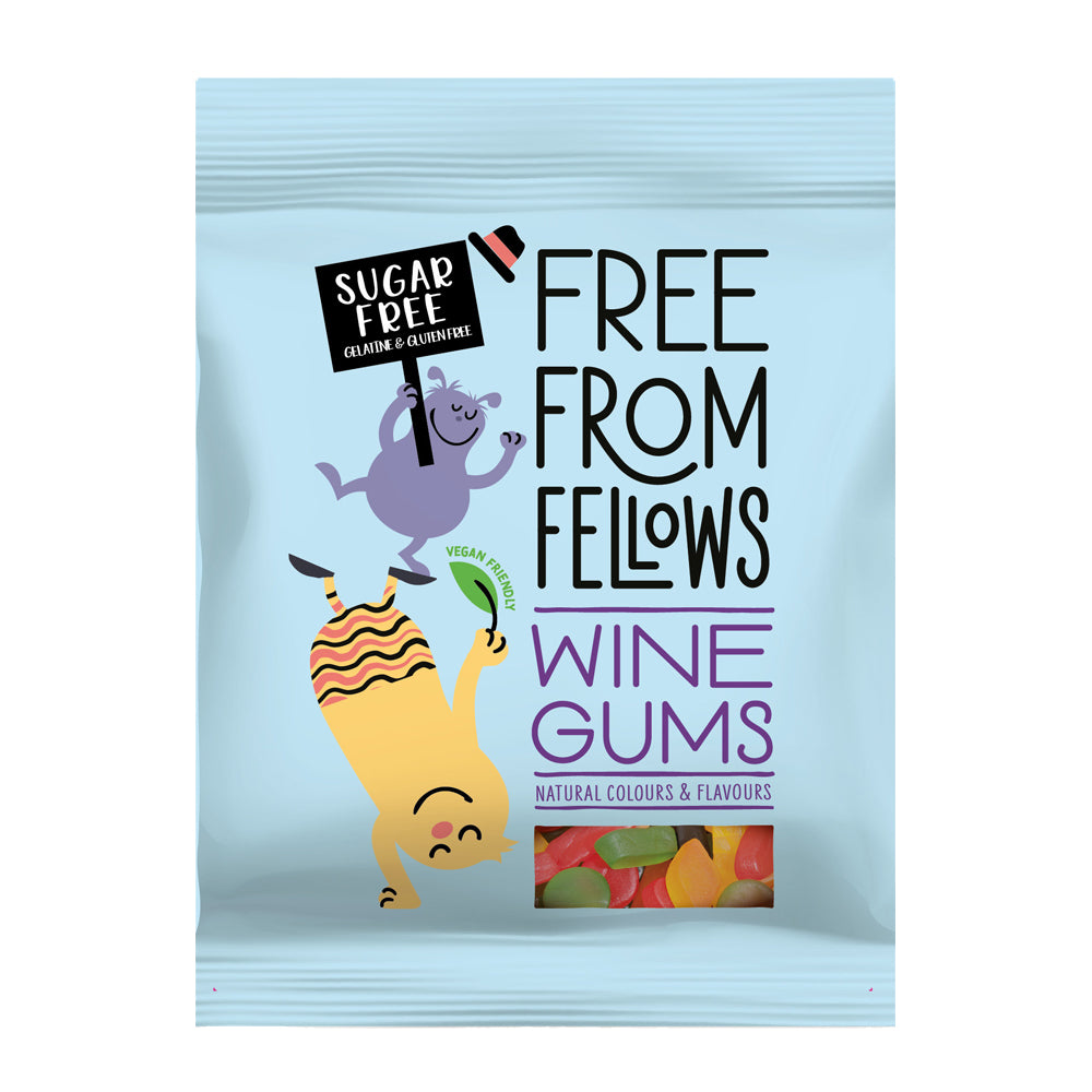 Free From Fellows - Wine Gums Mix 10x100g