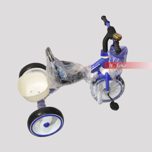 3 Wheel Blue Saddle Sport Tricycle for Kids - 3 to 5 Years nofeka 3 Wheel Blue Saddle Sport Tricycle for Kids - 3 to 5 Years Nofeka Uganda Cycling Equipment.