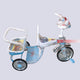 3 Wheel Metal Double Tricycle bike for Kids - 3 to 5 Years