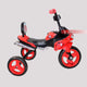 3 Wheel Red/White Double Tricycle bike for Kids - 3 to 5 Years