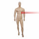 Adjustable brown Male Full Body Mannequin without stand