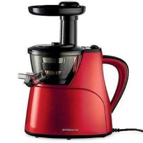 Ambiano Masticating Slow Juicer - Red