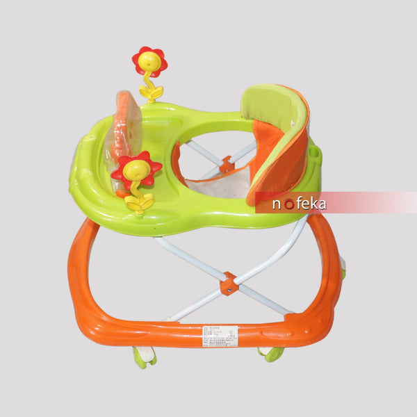 Nofeka Uganda Baby Walkers Baby Walker with Activity Tray for Kids - 3 to 9 Months