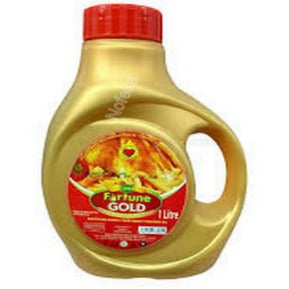 Bidco Fortune Gold 1ltr JerryCan
