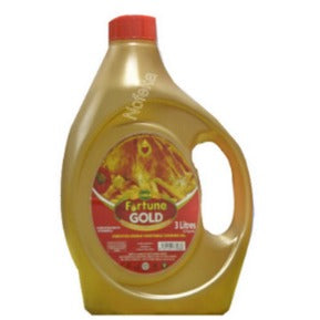 Bidco Fortune Gold 3ltr Jerrycan