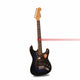 Black Fender 6 String Fingerboard Electric Guitar