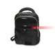 Black Polyester Durable Friendly Backpack