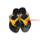 Black Strapped Women's Casual Craft Sandals