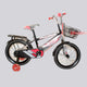 BONNY BABY Red Bicycle for Kids - 5  to 8 Years - 16-inch Wheels