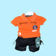 Boys' Ultraman Orange Short Sleeve T-Shirt, and Pants