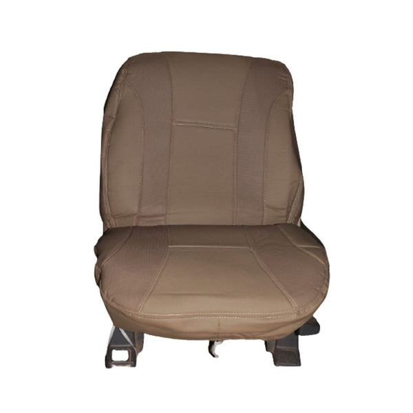 Nofeka Automobile Car Seat Covers for Alphard, Land Cruiser, Noah & More - Brown Leather