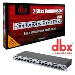 Nofeka Studio Equipment Dbx 266xs Dual Compressor / Gate. dbx 266XS