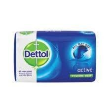 Nofeka Toiletries Dettol Soap Active 175g 1pc