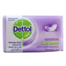 Dettol Soap Sensitive 175gm 1pc