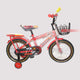DTO Red Boys Bicycle for Kids - Ages 5  to 8 Years - 16-inch Wheels