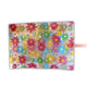 Flower Print Polypropylene Transparent Folder Clear Bag
