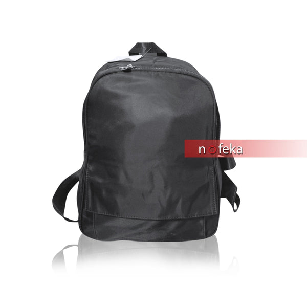 Nofeka Uganda Luggage & Travel Gears Generic Black Polyester Durable Friendly Backpack