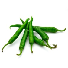 Green Chilies 500g