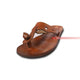 Hand-Stitched Strapped Leather Casual Craft Sandals
