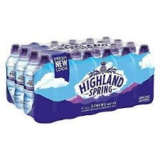 Highland Mineral Water 650ml (1 Carton)