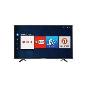 Hisense 43 Inches Smart Full HD -Black