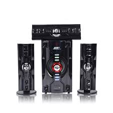 Nofeka Home Theater JERRY POWER JR-303 Hi-Fi 3.1 Channel Home Theater System - Black