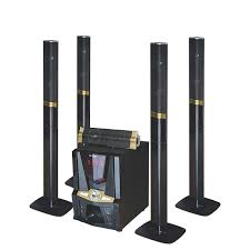 Nofeka Home Theater JERRY POWER JR-5500 Surround Sound 5.1 Subwoofer Active Home Theater System - Black,Gold