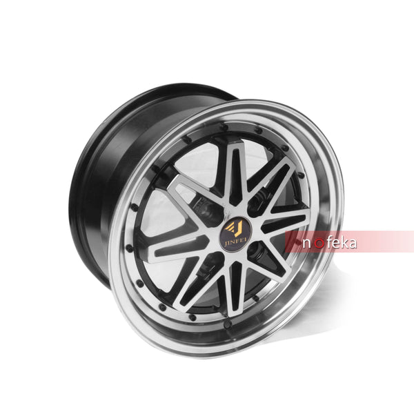 Nofeka Uganda Rims & Parts Jinfei 4-Holes 15 Inch Car Rims for Vitz, Raum, Sienta, and Spacio