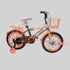 Nofeka Uganda Bicycles Luta Orange Bicycle for kids - Ages 5  to 8 Years - 16-inch Wheels