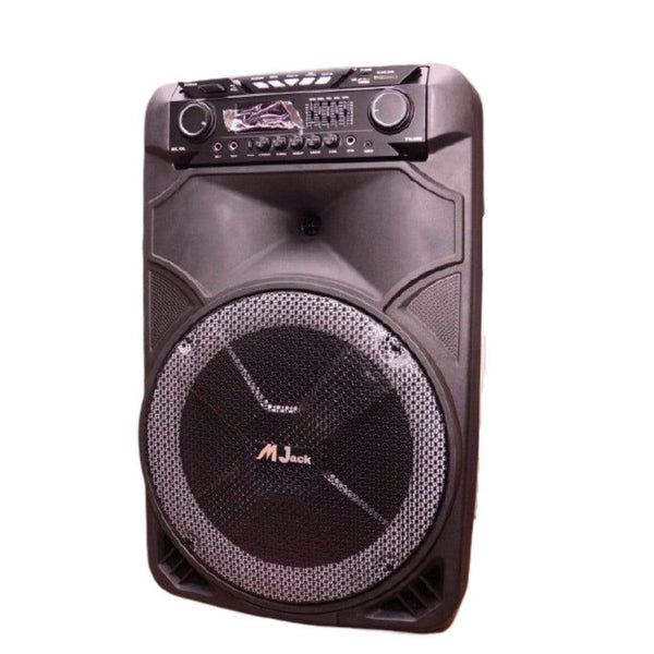 MJack Live Sound Equipment MJack MJ-1015 Professional Battery Speaker System with Remote Control