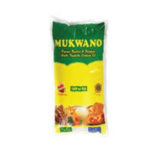 Mukwano Vegetable Cooking Oil Sachet 1ltr