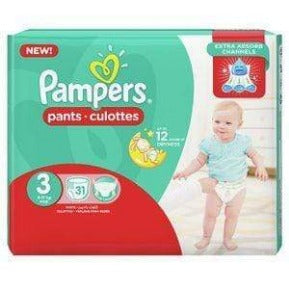 Pampers Pants Hc S3 (4x31s)