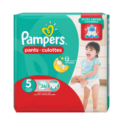 Pampers Pants Hc S5 (4x26pcs)