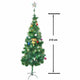 Pine Christmas Tree 210cm - Gold + Decorations