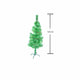 Pine Christmas Tree  Plain 120cm - Green