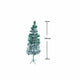 Pine Christmas Tree Snow 120cm