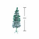 Pine Christmas Tree Snow 150cm