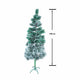 Pine Christmas Tree Snow 180cm