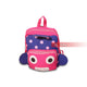 Pink Animal Cartoon Toddler Backpack for Girls