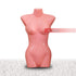 Nofeka Uganda Fashion Accessories Pink Female Torso Half Body Plastic Mannequin
