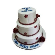 Scientific wedding Cake(2 days notice Period)