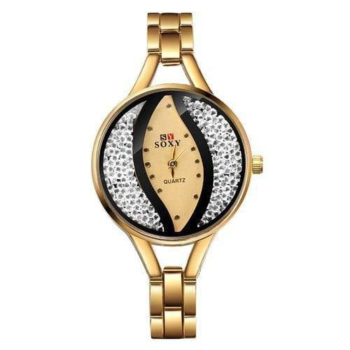 Nofeka Watches SOXY Soxy Ladies' Quartz Watch - Gold