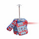 Spider Kids Rolling Backpack & Lunch Bags Set