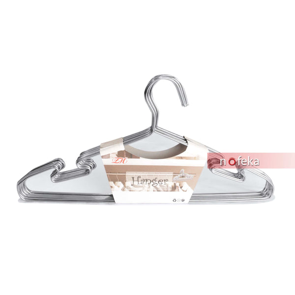 Nofeka Uganda Fashion Accessories Strong Heavy Duty Stainless Steel Metal Hangers